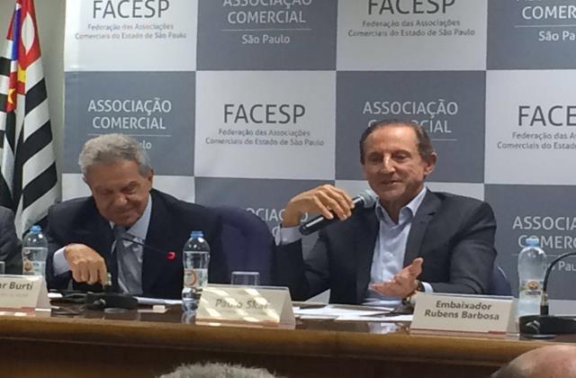 Reunião na ACSP (Paulo Skaf)